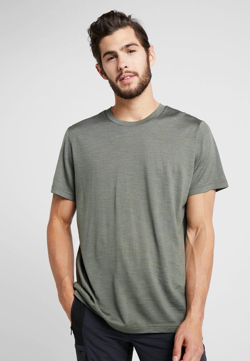 Bergans - OSLO TEE - T-shirts basic - green mud
