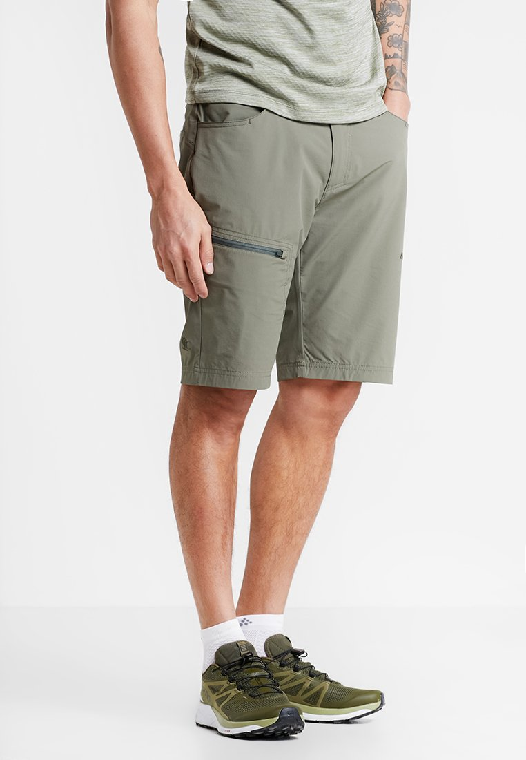 Bergans - MOA - Outdoor Shorts - greenmud/seaweed