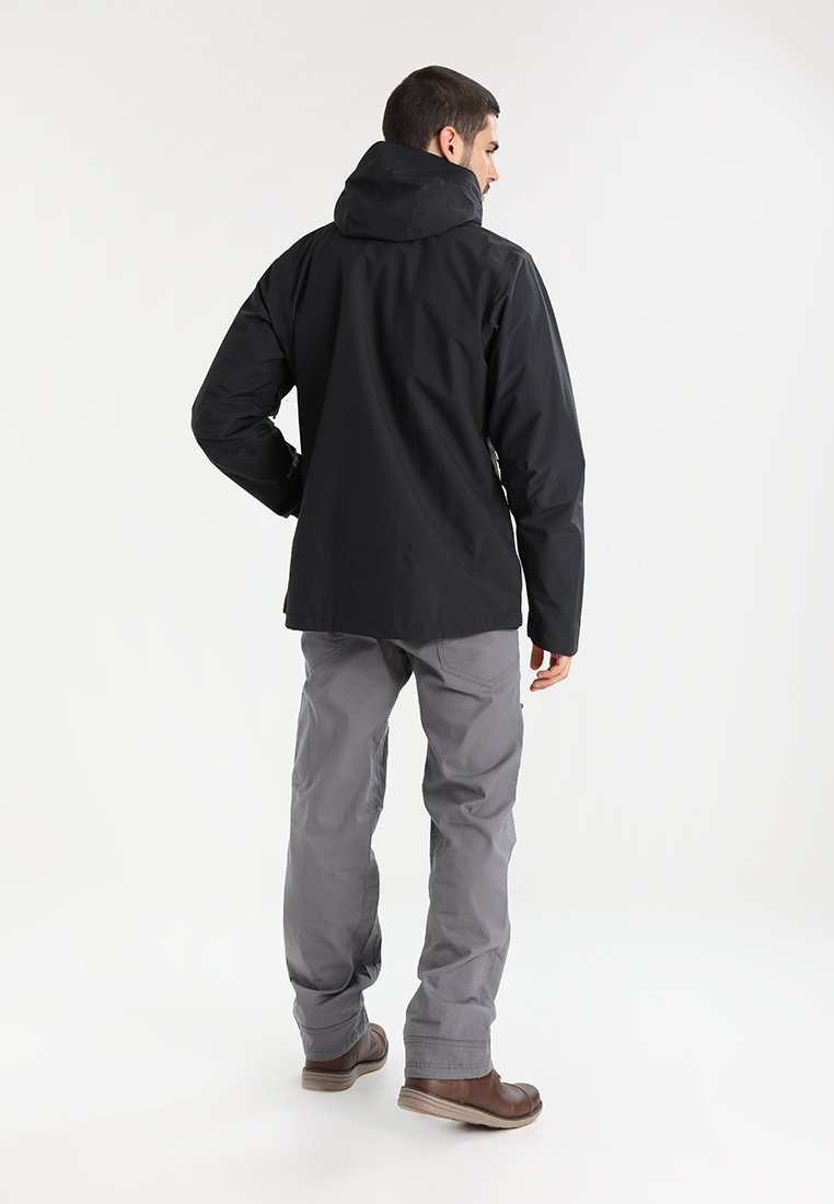 Bergans - RAMBERG  - Giacca hard shell - black/solid charcoal