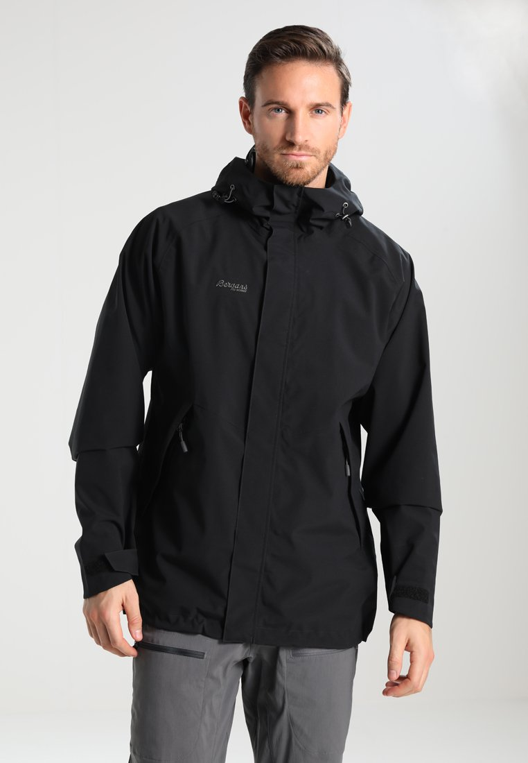 Bergans - RAMBERG  - Hardshellová bunda - black/solidcharcoal