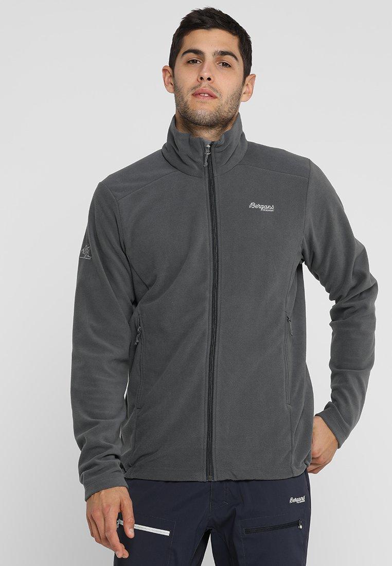 Bergans - FINNSNES - Fleece jacket - solid dark grey