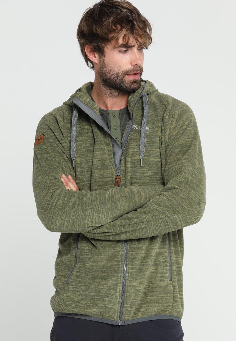 Bergans - HAREID - Fleece jacket - seaweed melange