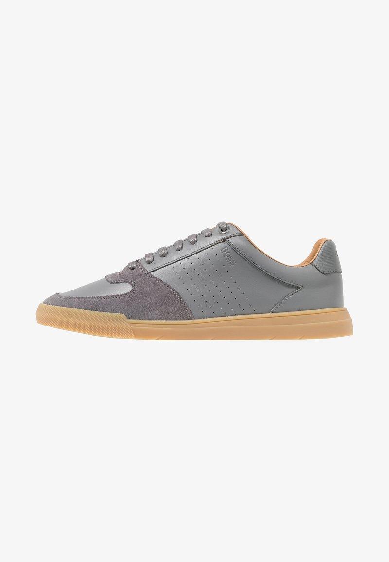 BOSS - COSMO - Matalavartiset tennarit - medium grey