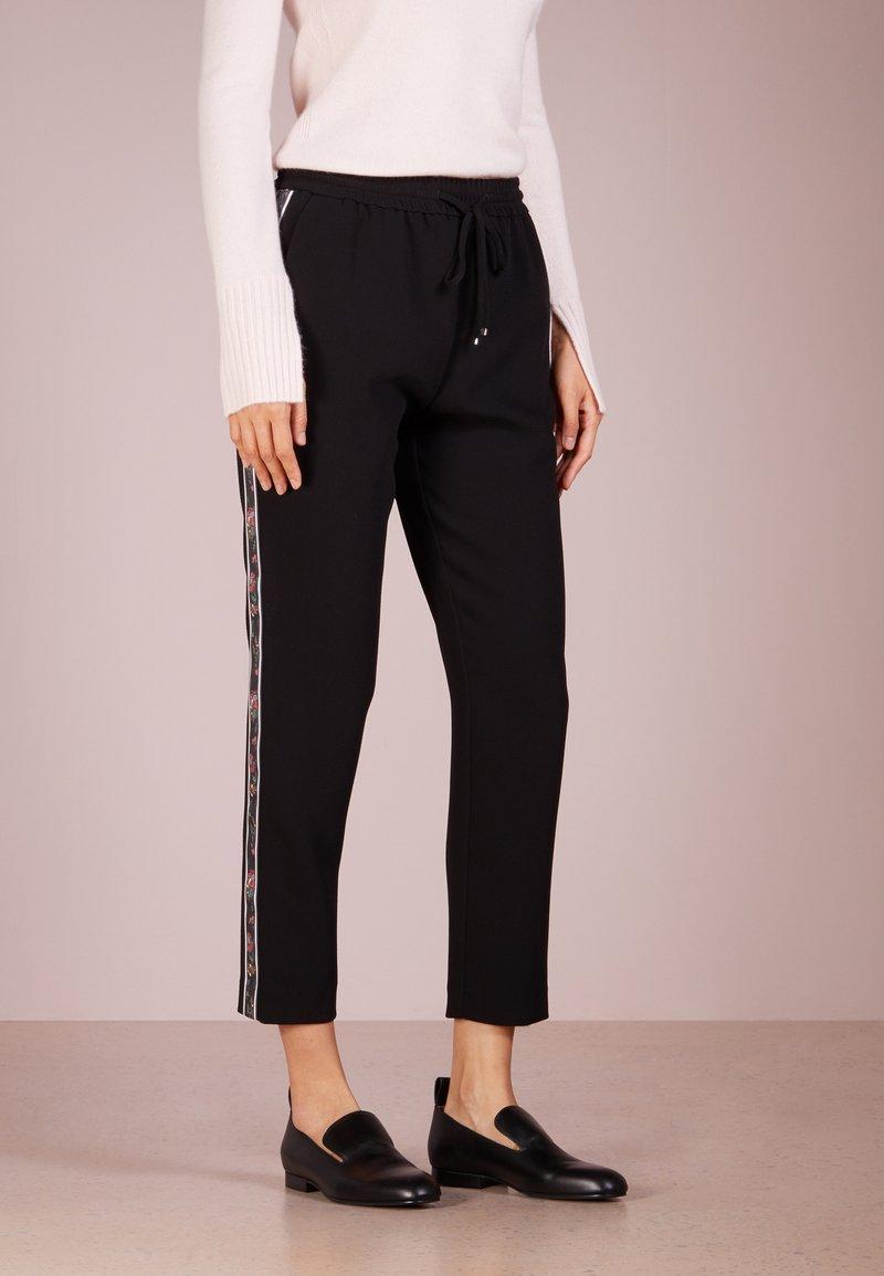 BOSS - SAFALIR - Trousers - black