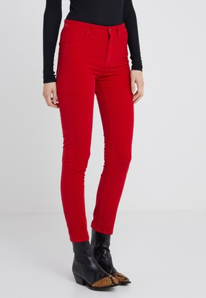 SAVELVIA - Trousers - racy red