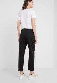 BOSS - SATENCY - Kalhoty - black - 2