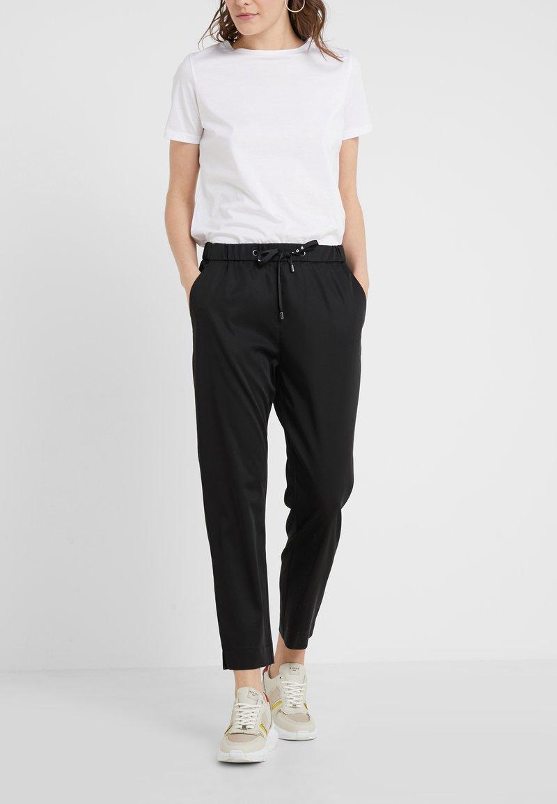 BOSS - SATENCY - Trousers - black