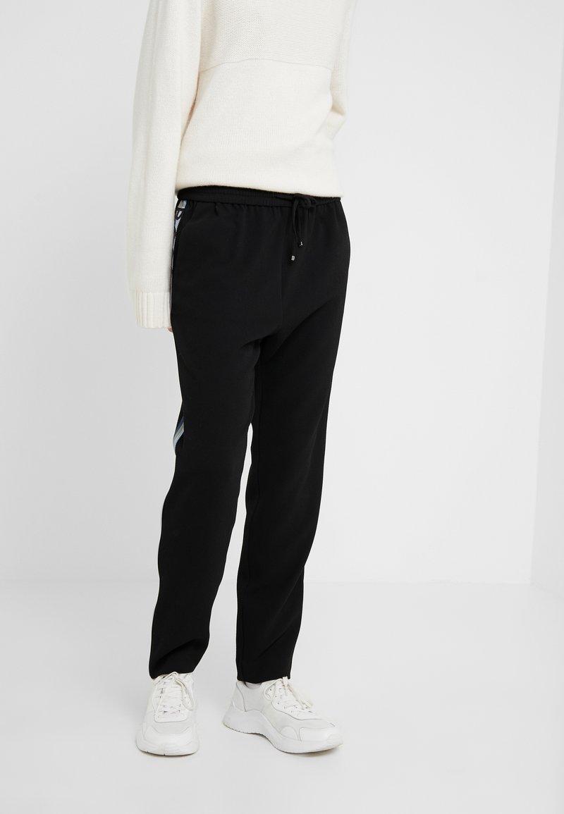 BOSS - SAFALIR - Pantalon de survêtement - black