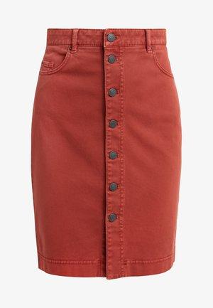 BASIRI - Spódnica ołówkowa  - rust/copper