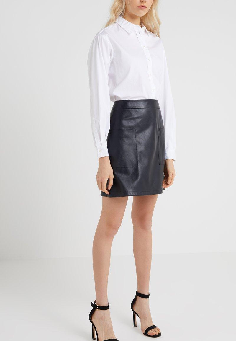 BOSS - BINOLY - A-snit nederdel/ A-formede nederdele - dark blue