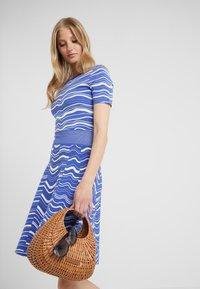 BOSS - IVELNA - Strikket kjole - medium blue - 3