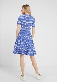 BOSS - IVELNA - Strikket kjole - medium blue - 2