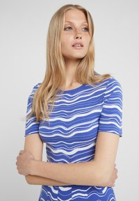 BOSS - IVELNA - Strikket kjole - medium blue - 4