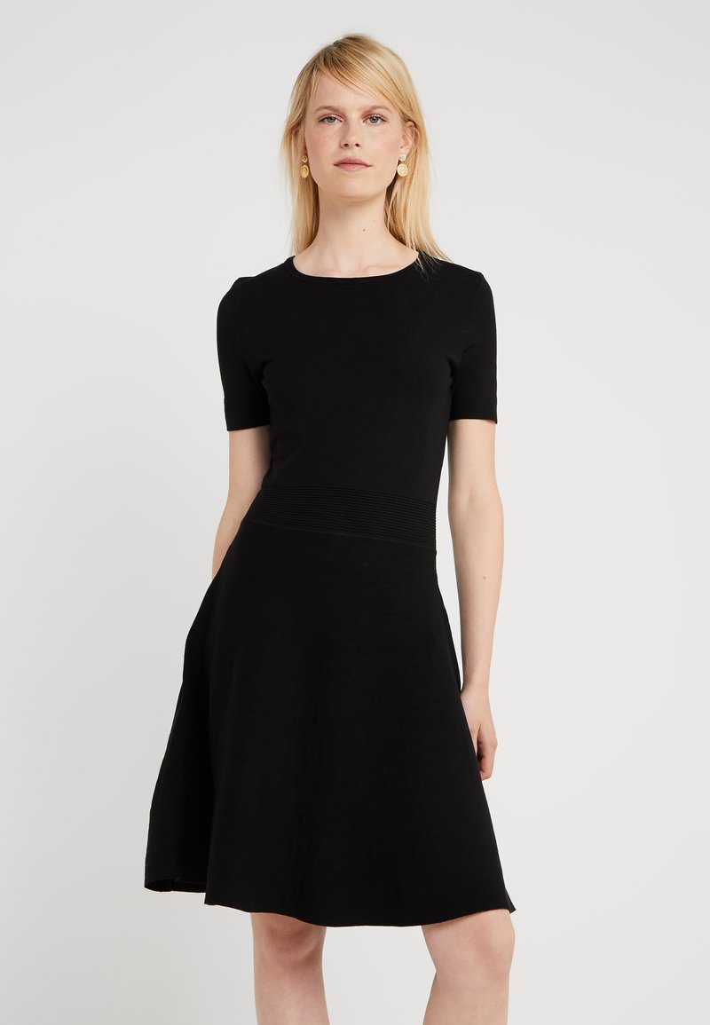 BOSS - IVELNA - Gebreide jurk - black