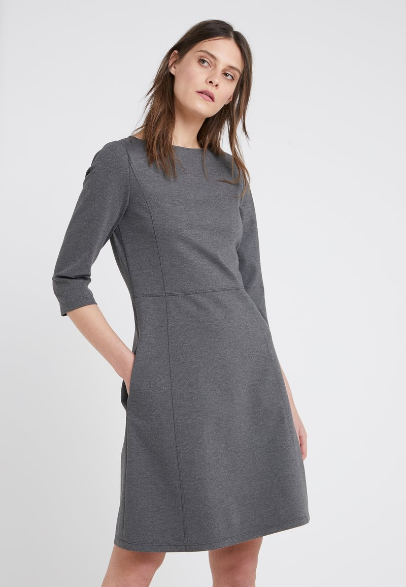 BOSS - ALOMA - Sukienka z dżerseju - charcoal