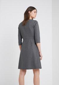 BOSS - ALOMA - Sukienka z dżerseju - charcoal - 2
