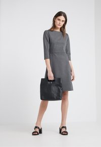 BOSS - ALOMA - Sukienka z dżerseju - charcoal - 1