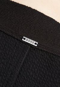 BOSS - DASAND - Gebreide jurk - black - 5