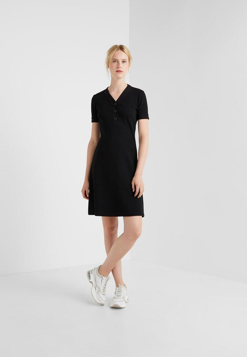 BOSS - DASAND - Gebreide jurk - black