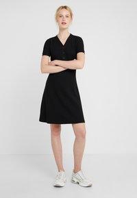 BOSS - DASAND - Gebreide jurk - black - 1