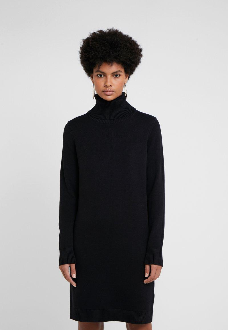 BOSS - WABELLETTA - Jumper dress - black