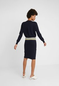 BOSS - IWEARIT - Strikket kjole - open blue - 2
