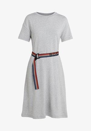 DEBELT - Denní šaty - silver