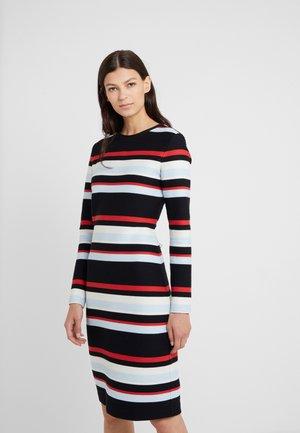 DALINDI - Žerzejové šaty - red