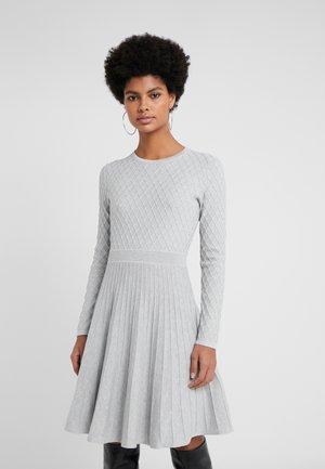 WEDRESSY - Gebreide jurk - grey