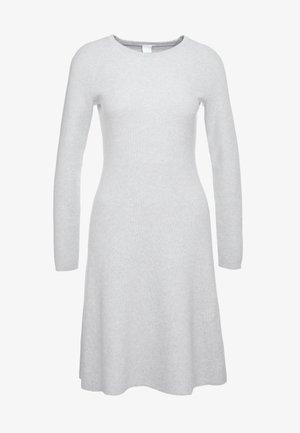 IDRESSIT - Gebreide jurk - silver