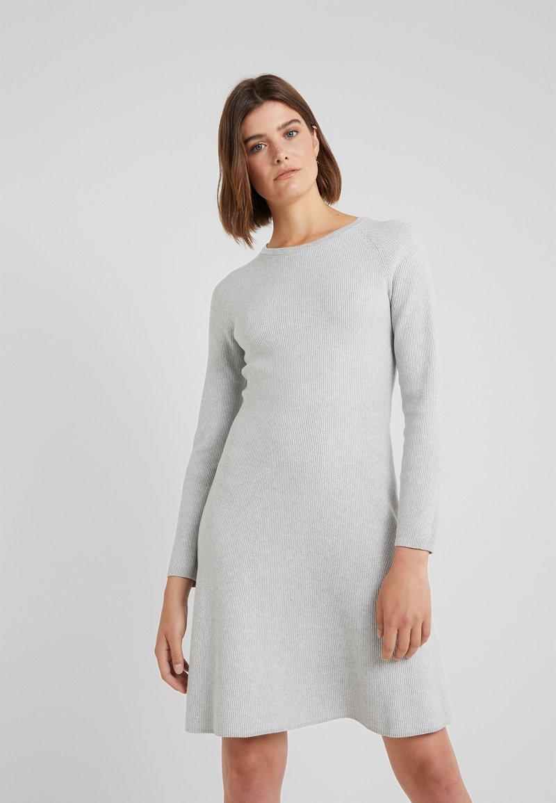 BOSS - IDRESSIT - Jumper dress - silver