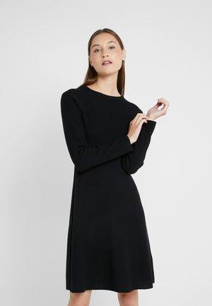 IDRESSIT - Gebreide jurk - black