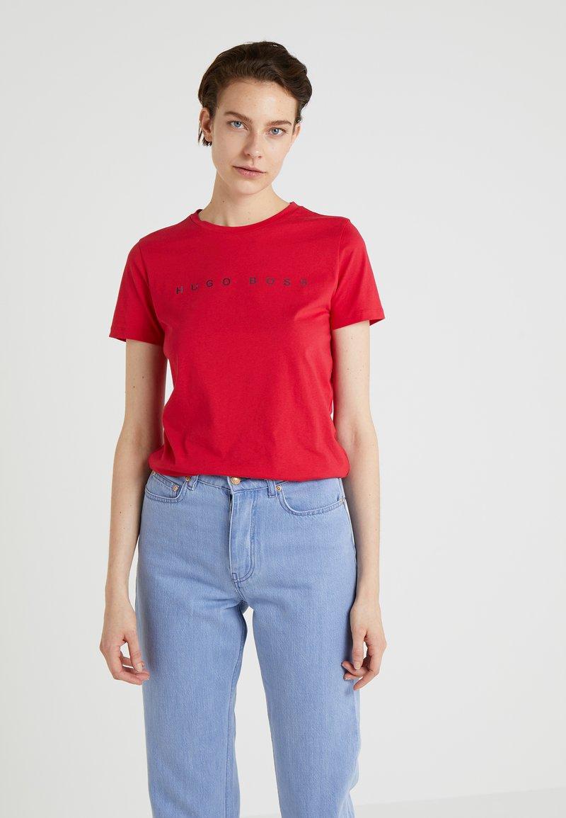 BOSS - TEDECENT - T-Shirt print - bright red