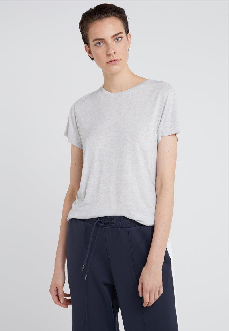 BOSS - TECREW - T-shirts basic - silver
