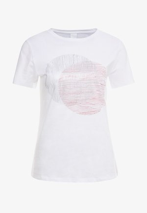 TEMOIRE - Print T-shirt - white