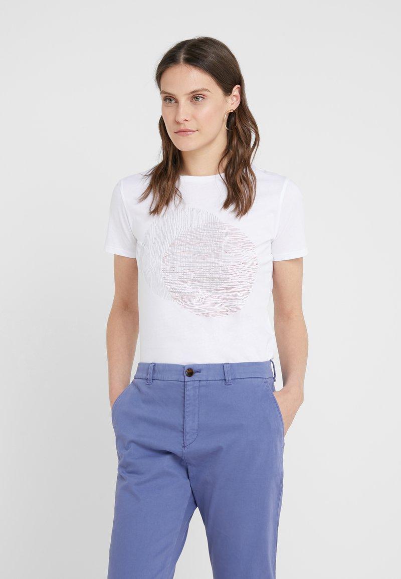 BOSS - TEMOIRE - T-shirt con stampa - white