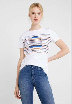 TEAROUND - T-shirt print - white