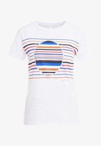 BOSS - TEAROUND - T-shirt con stampa - white - 4