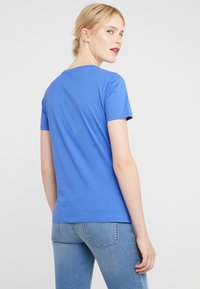BOSS - TEAROUND - T-shirt con stampa - medium blue - 2