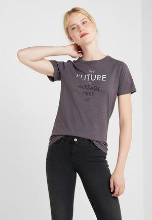 TECUT - T-shirt con stampa - charcoal