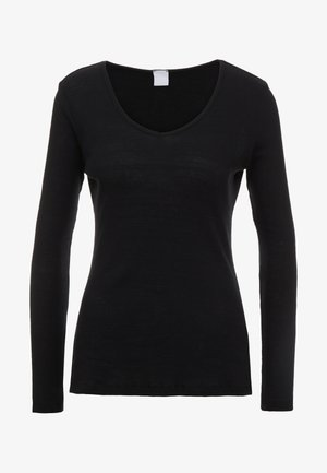 TEROUNDED - Long sleeved top - black