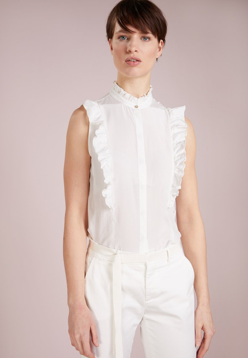 BOSS - CORAI - Button-down blouse - open white