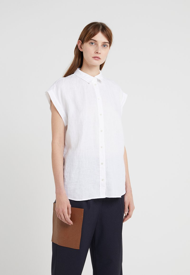 BOSS - EMIRTA - Button-down blouse - white