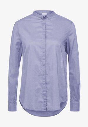 EFELIZE - Button-down blouse - dark purple
