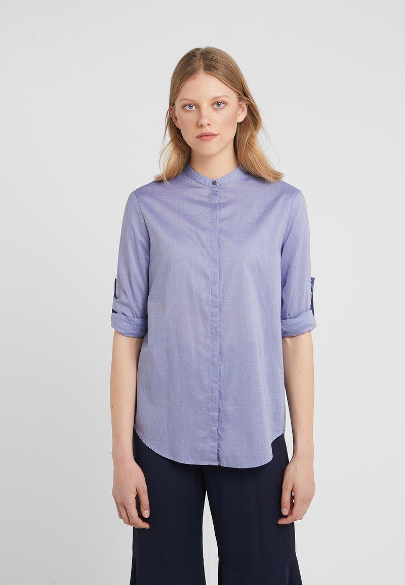 BOSS - EFELIZE - Button-down blouse - dark purple