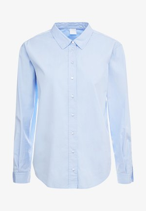 EMAINE - Button-down blouse - open blue