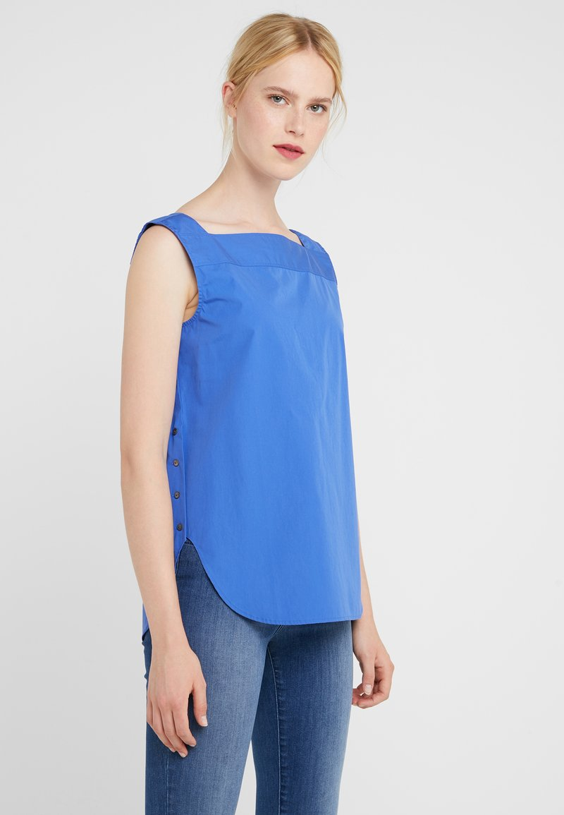 BOSS - CANZON - Bluser - medium blue