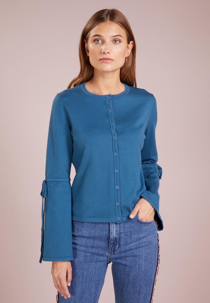 BOSS - WACEY - Cardigan - medium blue