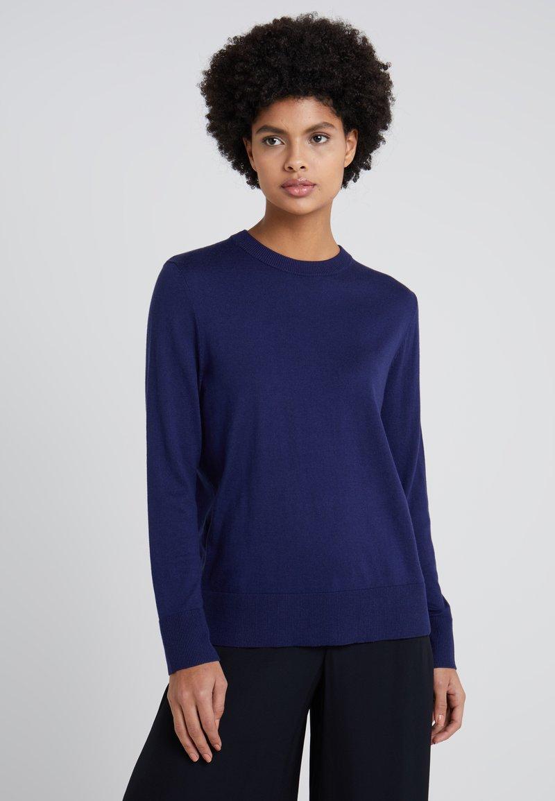 BOSS - IBINNI - Strickpullover - dark blue