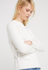 BOSS - IBANNI - Strickpullover - open white - 3